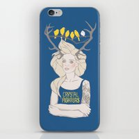 foo fighters iPhone & iPod Skins featuring Crystal Fighters by Anna Diricheva