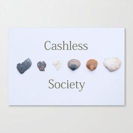 Bitcoin Society Canvas Print