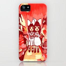 Lollipop Girls. iPhone Case