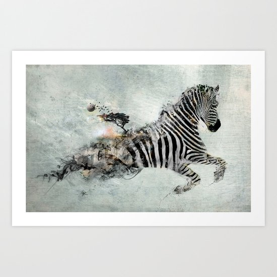 Save our world Art Print