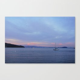 Sausalito after Sunset Canvas Print