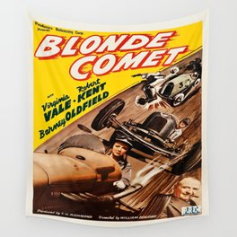 Vintage poster - Blonde Comet Wall Tapestry