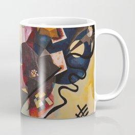 Wassily Study Repro yellow red blue 1925  Coffee Mug