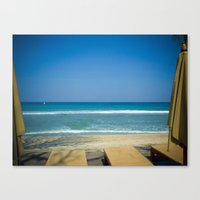 indonesia Canvas Prints featuring Lombok, Indonesia by Alex Faundez