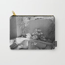 Shady Nook Monochrome Carry-All Pouch