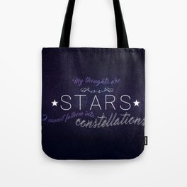 My Thoughts Are Stars - TFIOS Tote Bag