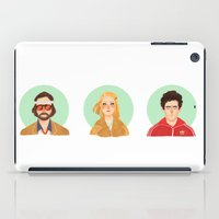 royal tenenbaums iPad Cases featuring The Tenenbaums by Galaxyspeaking