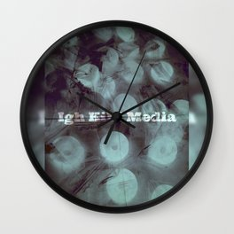 SWEET by Igh Kihl Media Wall Clock