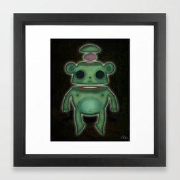 Ghost Bear Framed Art Print
