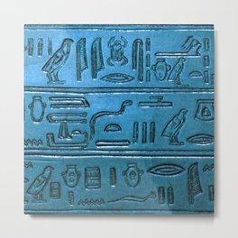 Hieroglyphs 2014-1026 Metal Print
