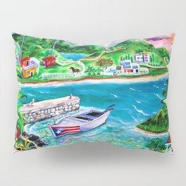 Isla del Encanto - Heart of the Island Pillow Sham