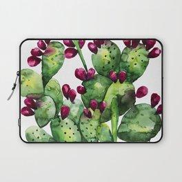 Prickly, Prickly Pear Cactus Laptop Sleeve