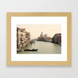 Bridge Views of Venezia  Framed Art Print