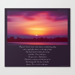 Beyond Land's Reach Canvas Print