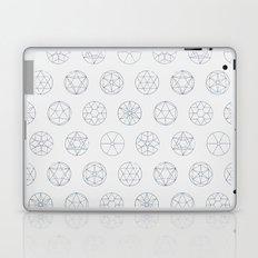 Geocircles (Blue) Laptop & iPad Skin