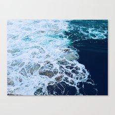 Wonderful Waves Canvas Print