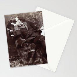 Portrait of Oscar Wilde (1882) Stationery Cards