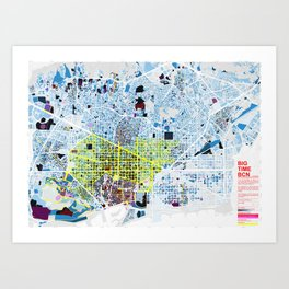 BIG TIME BCN Art Print