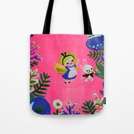 Alice Fan Art Tote Bag