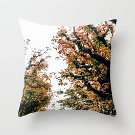 Don't Leaf Me | Lucerne, Switzerland Throw Pillow