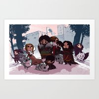 bouletcorp Art Prints featuring Tribute by Bouletcorp
