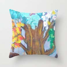 Elevate Totem Throw Pillow