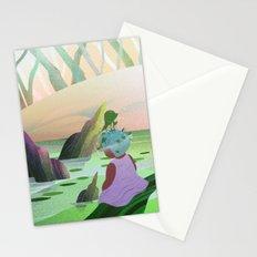 Aqua Stationery Cards