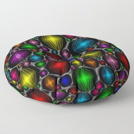 Holiday Baubles Floor Pillow