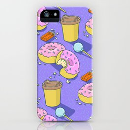 Just Snack'n iPhone Case