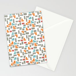 Bricks - light Stationery Cards