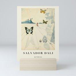 Poster-Salvador Dali-Butterflies. Mini Art Print