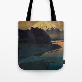 Sunset at Aga Tote Bag