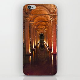 Pillars Of Light! iPhone Skin