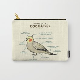 Anatomy of a Cockatiel Carry-All Pouch