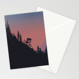 Downhill Colors Stationery Cards