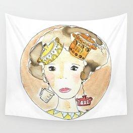 I pensieri sono una zuppa Wall Tapestry