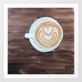 Whole Latte Love Art Print