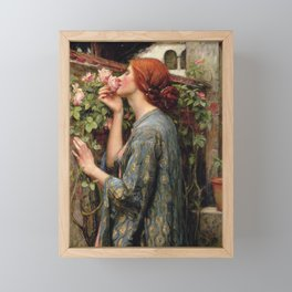John William Waterhouse, My Sweet Rose, 1908 Framed Mini Art Print