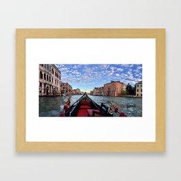 Grand Canal Framed Art Print