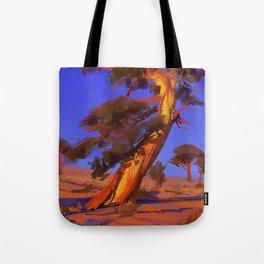Golden Juniper Tote Bag