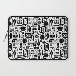 Write This Way Pattern Laptop Sleeve