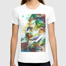 FRIEDRICH NIETZSCHE - watercolor portrait.3 T-shirt