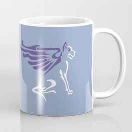Myths & Monsters: Winged dog Coffee Mug