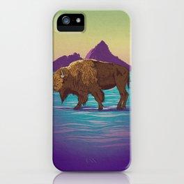 Buffalo Country iPhone Case