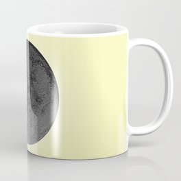 BLACK MOON + CANARY YELLOW SKY Coffee Mug