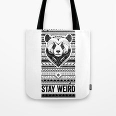 Stay Weird - Oldschool Tote Bag