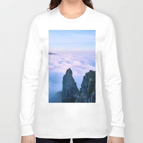 Nature's Cotton Candy Long Sleeve T-shirt