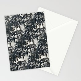 Leaf Shadows on Old Deck Stationery Cards