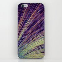 fireworks iPhone & iPod Skins featuring Fireworks by Françoise Reina
