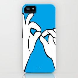 ASL Interpret iPhone Case